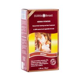 Brown Henna Hair Coloring Powder