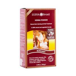 Burgundy Henna Hair Coloring Powder