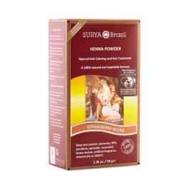 Strawberry Blonde Henna Hair Coloring Powder
