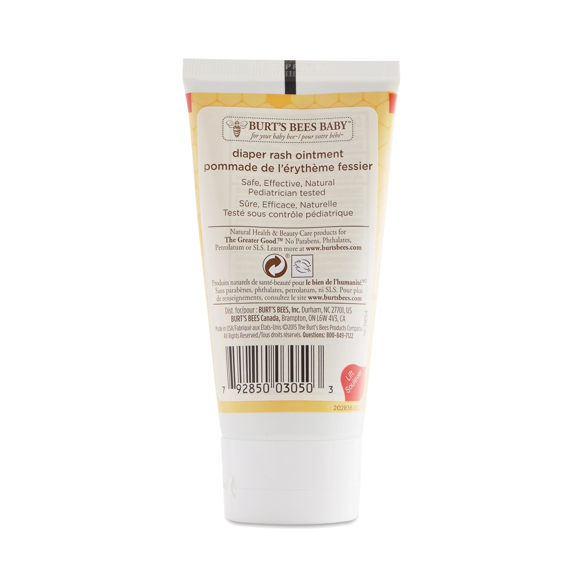 b1f7a8055 Baby Bee Diaper Rash Ointment by Burt s Bees - Thrive Market