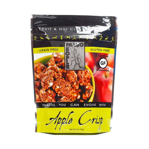 Apple Crisp Gourmet Grain Free Granola Clusters
