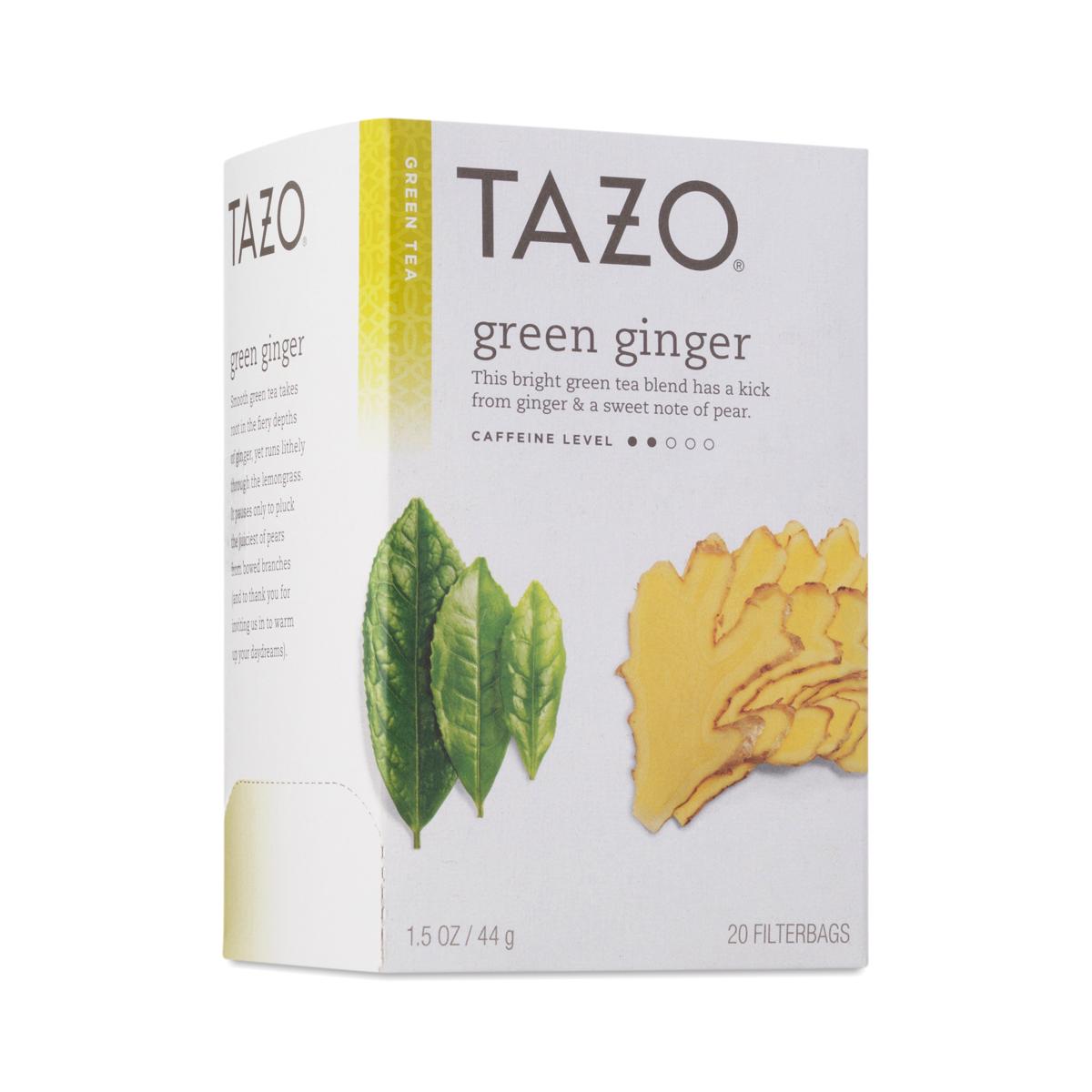 Tazo green tea ingredients