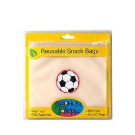 Reusable Snack Bag - Soccer Ball