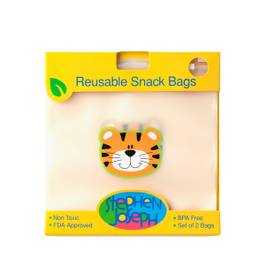 Reusable Snack Bag - Tiger