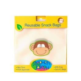 Reusable Snack Bag - Monkey