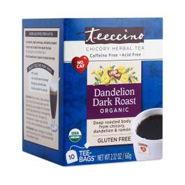 Dandelion Dark Roast Chicory Herbal Tea