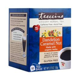Dandelion Caramel Nut Chicory Herbal Tea