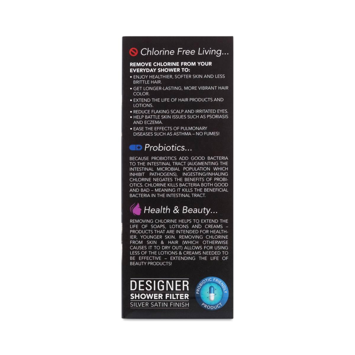 new wave enviro designer shower filter system thrive market. Black Bedroom Furniture Sets. Home Design Ideas