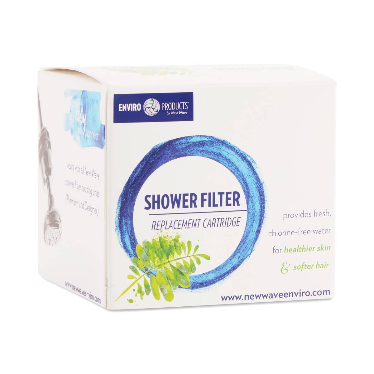 shower filter cartridge by new wave thrive market. Black Bedroom Furniture Sets. Home Design Ideas