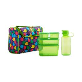 Litter Free Lunchbox Kit, Polka Dots