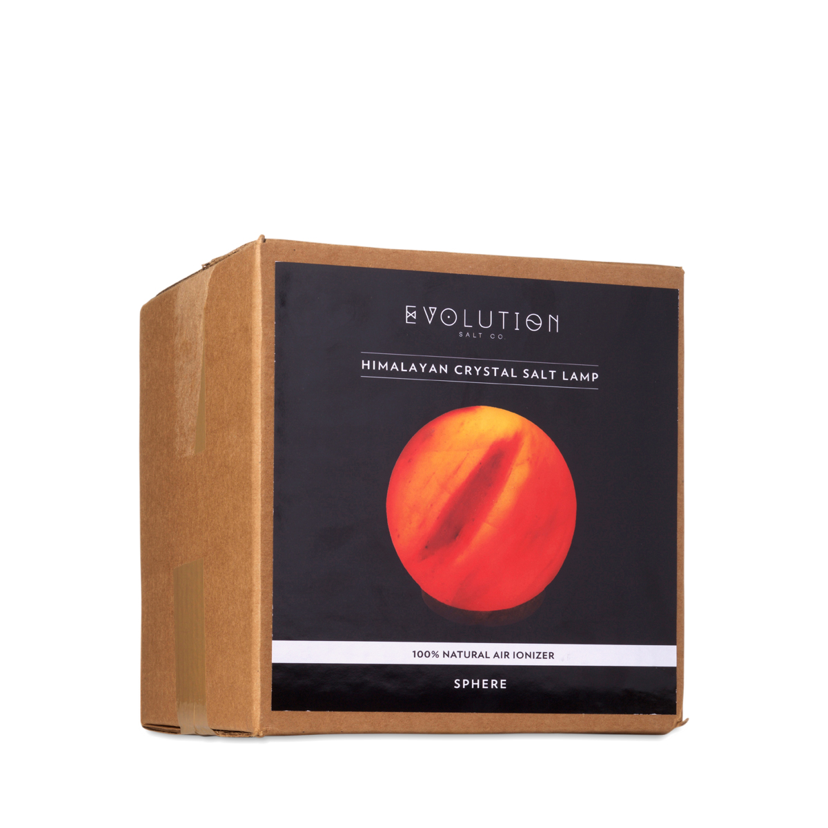 sphere crystal salt lamp by evolution salt co thrive market - Evolution Salt Lamp