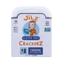 Gluten-Free Cracked Pepper & Sea Salt Crackerz