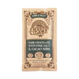 Dark & Salty 82% Cacao Chocolate Bar
