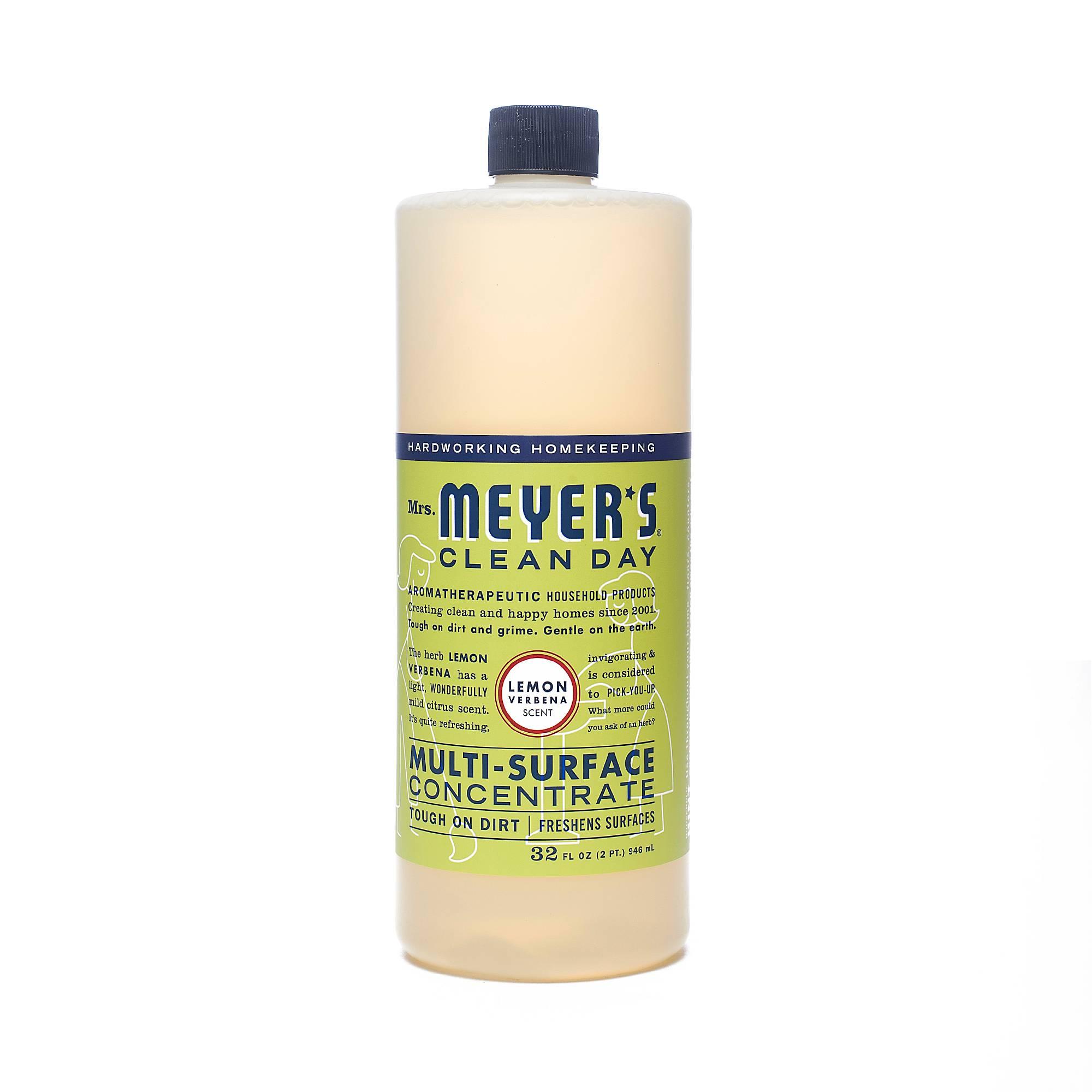 Mrs Meyer S Clean Day Concentrate Lemon Verbena Thrive Market