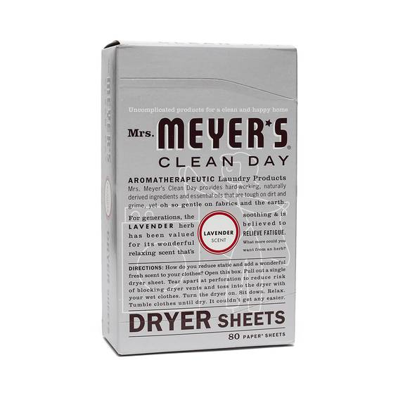 Lavender Dryer Sheets