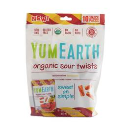 Organic Sour Twists,10-pack