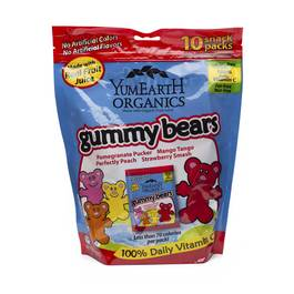 Family Size Snack Pack Gummy Bears