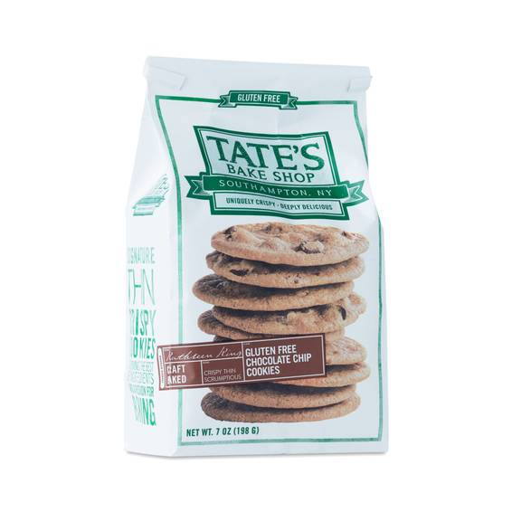 Tates Chocolate Chip Cookies Gluten Free