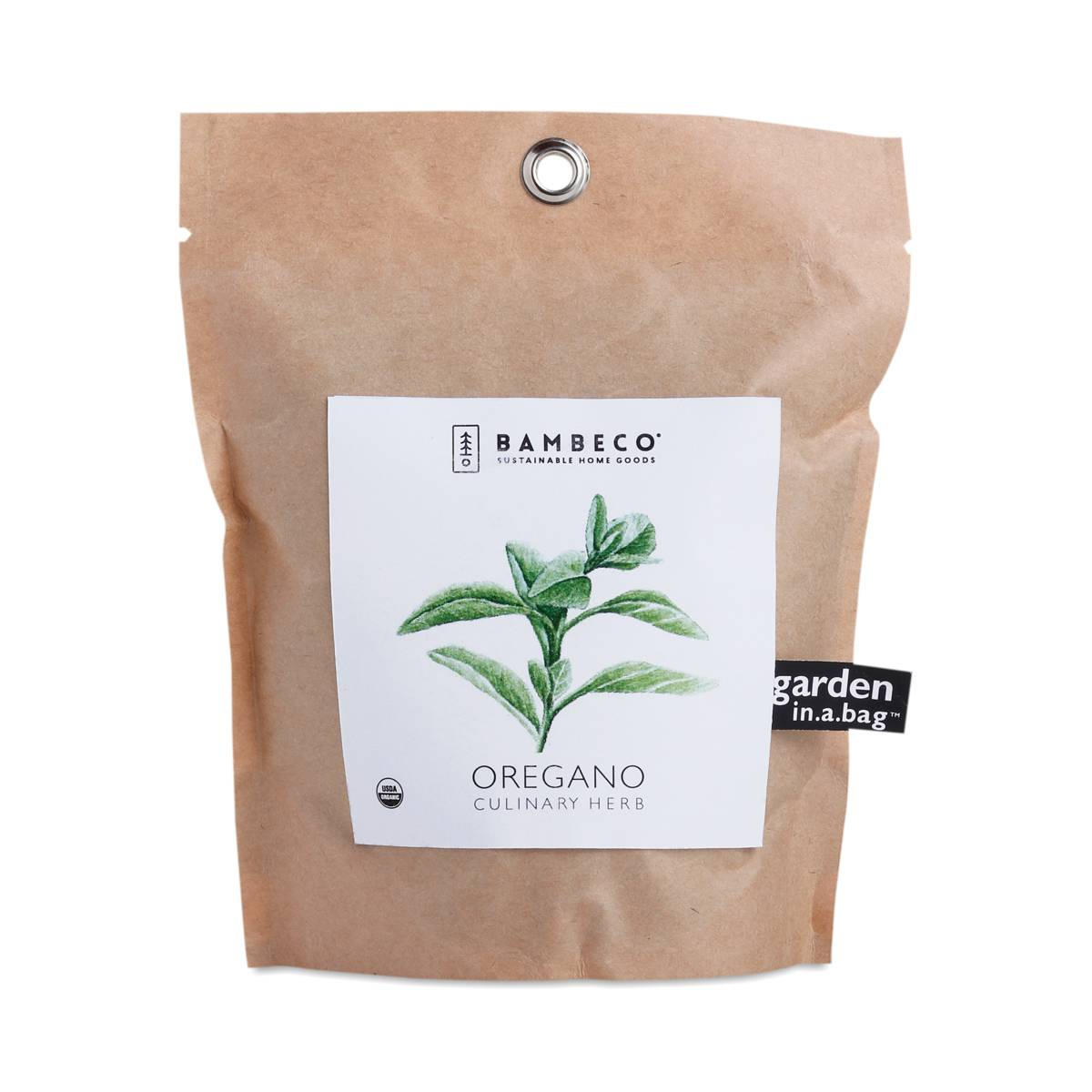 Bambeco Organic Oregano Garden In A Bag Thrive Market