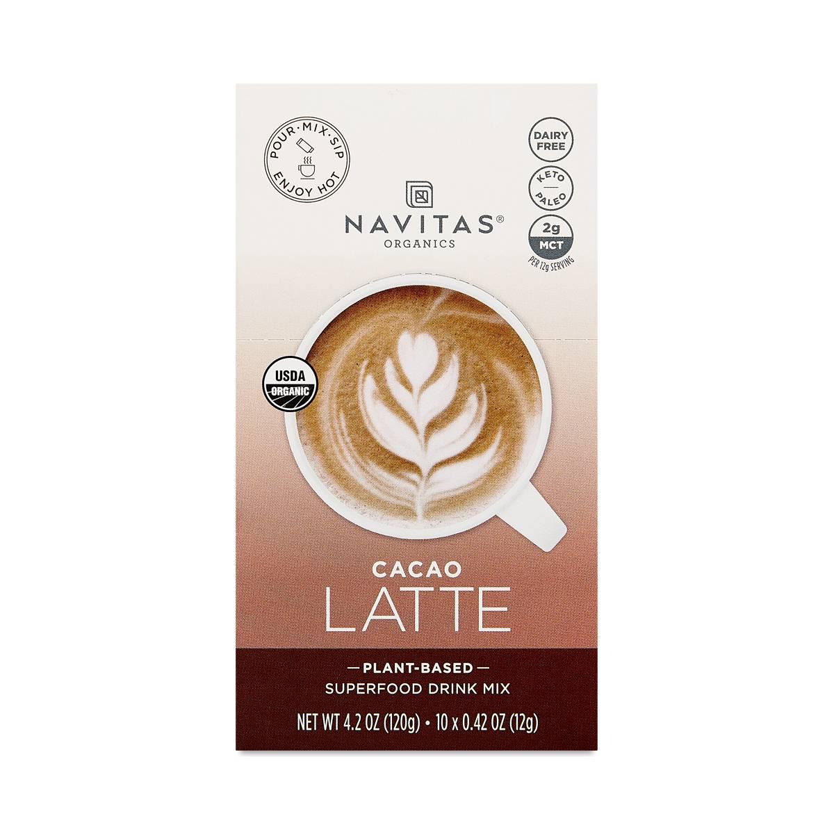 Navitas Organics Latte, Cacao