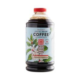 Organic Cold Brew Coffee Concentrate, French Vanilla