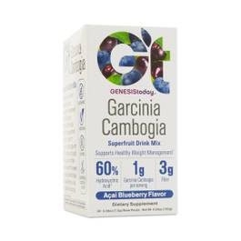 Garcinia Cambogia Drink Mix – Açaí Blueberry