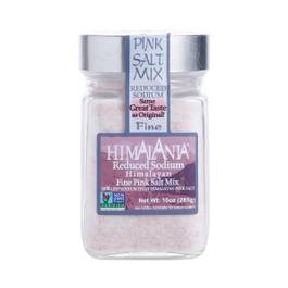 Fine Pink Salt, Low Sodium