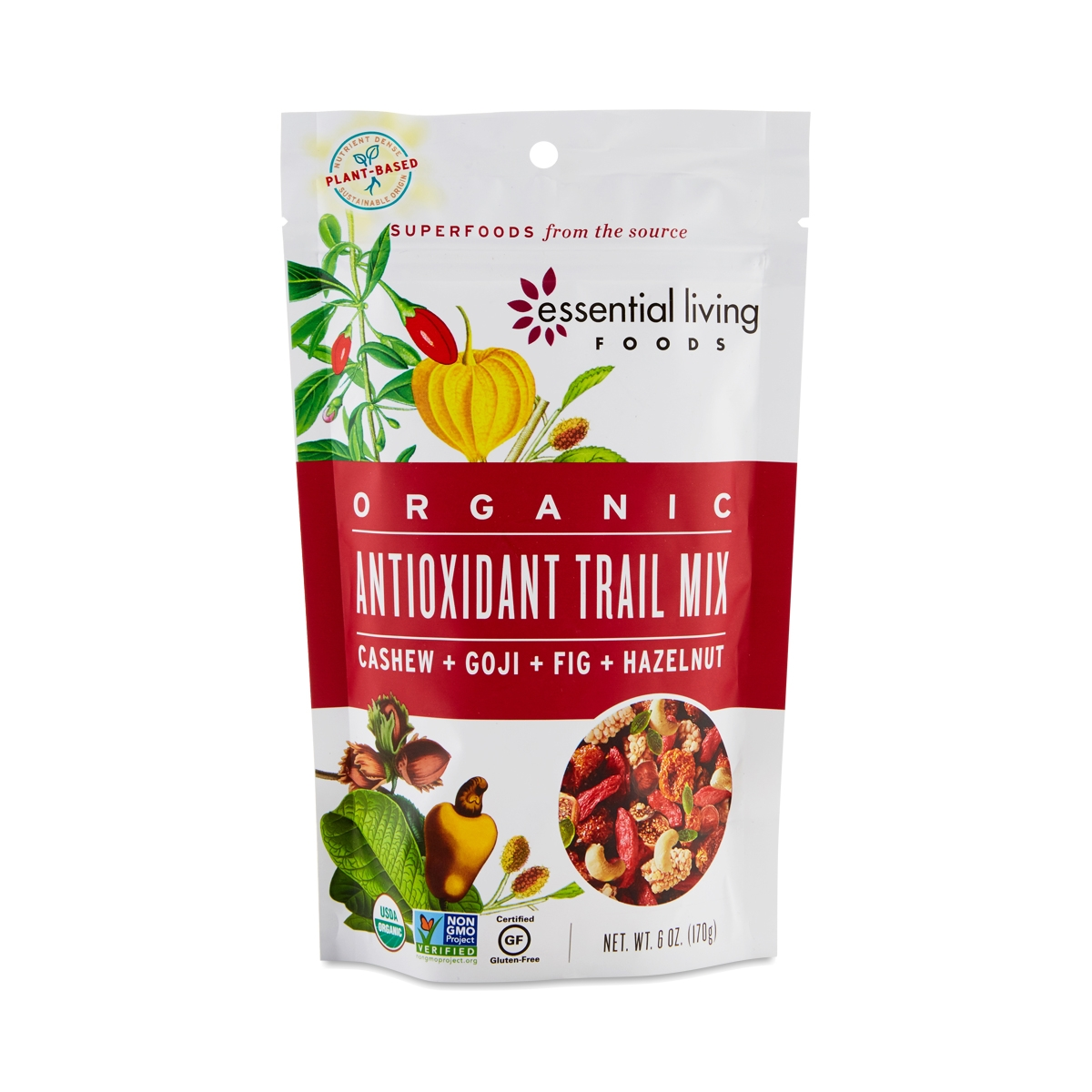 Antioxidant Trail Mix. Thrive · Food · Essential Living Foods