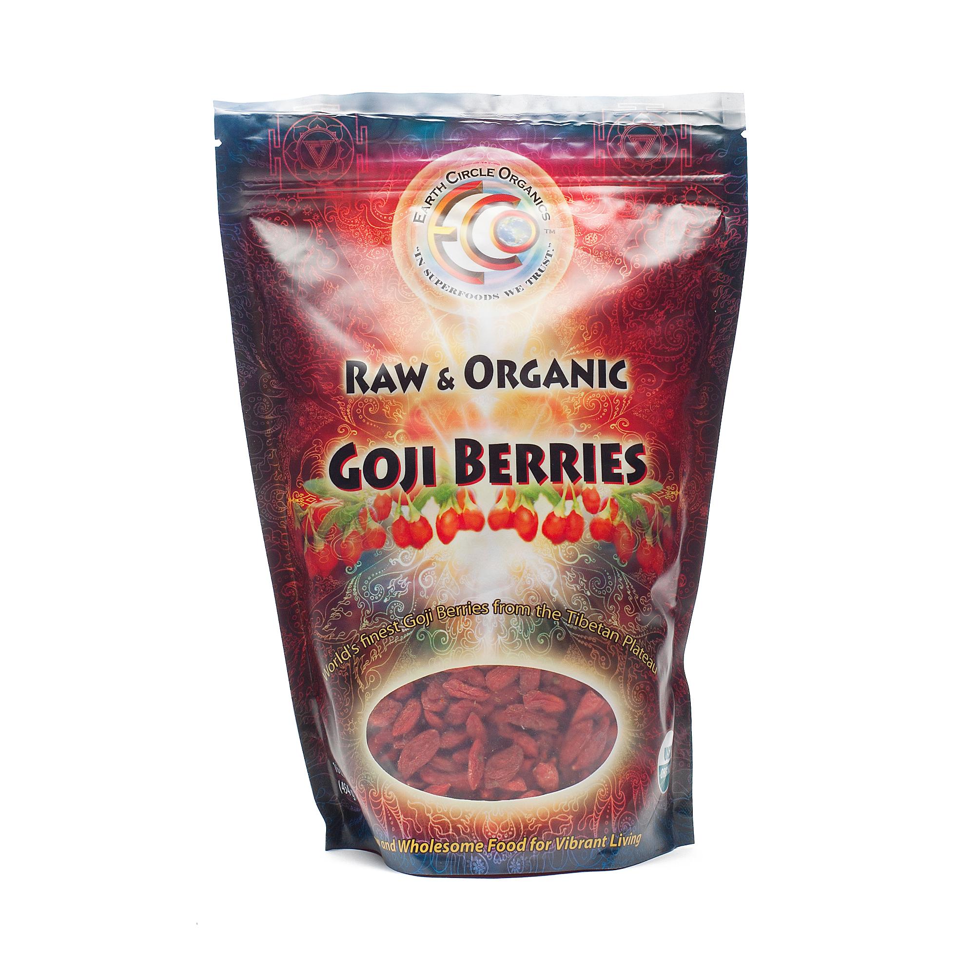 Tibetan Plateau Organic Goji Berries