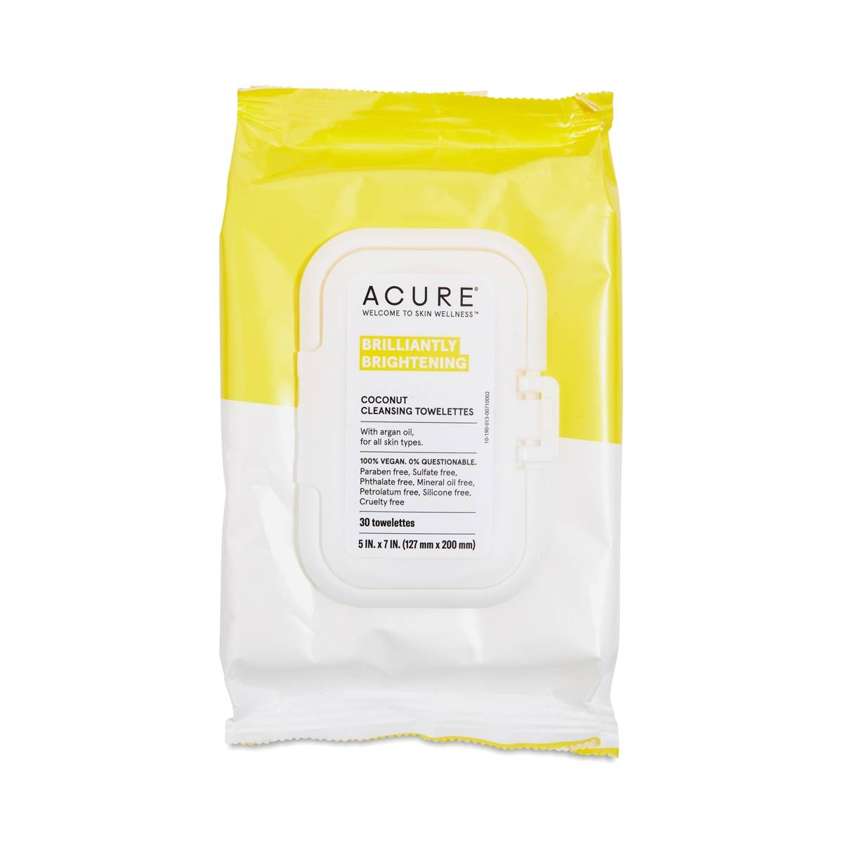 Coconut Cleansing Towelettes By Acure