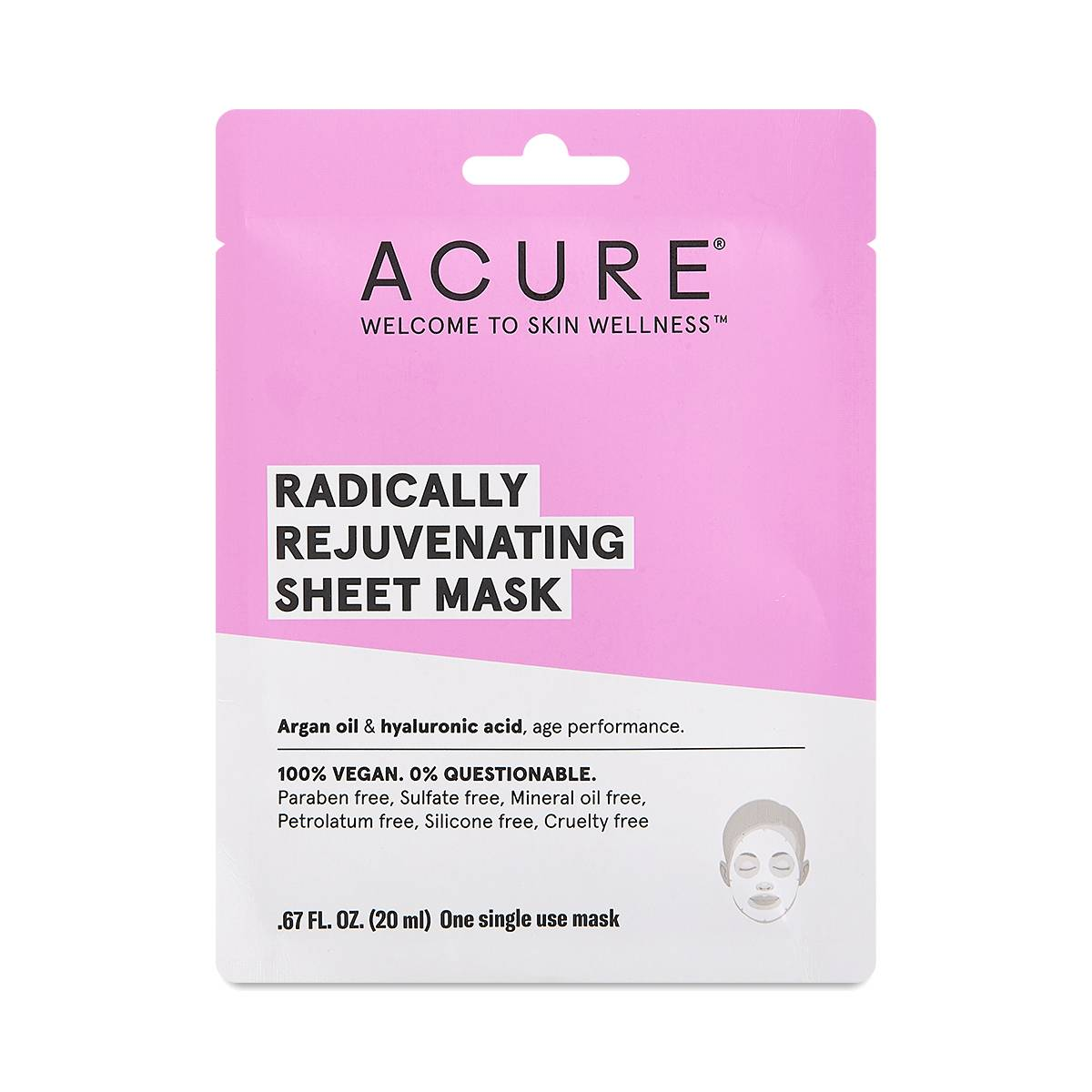 Rejuvenating Sheet Mask By Acure