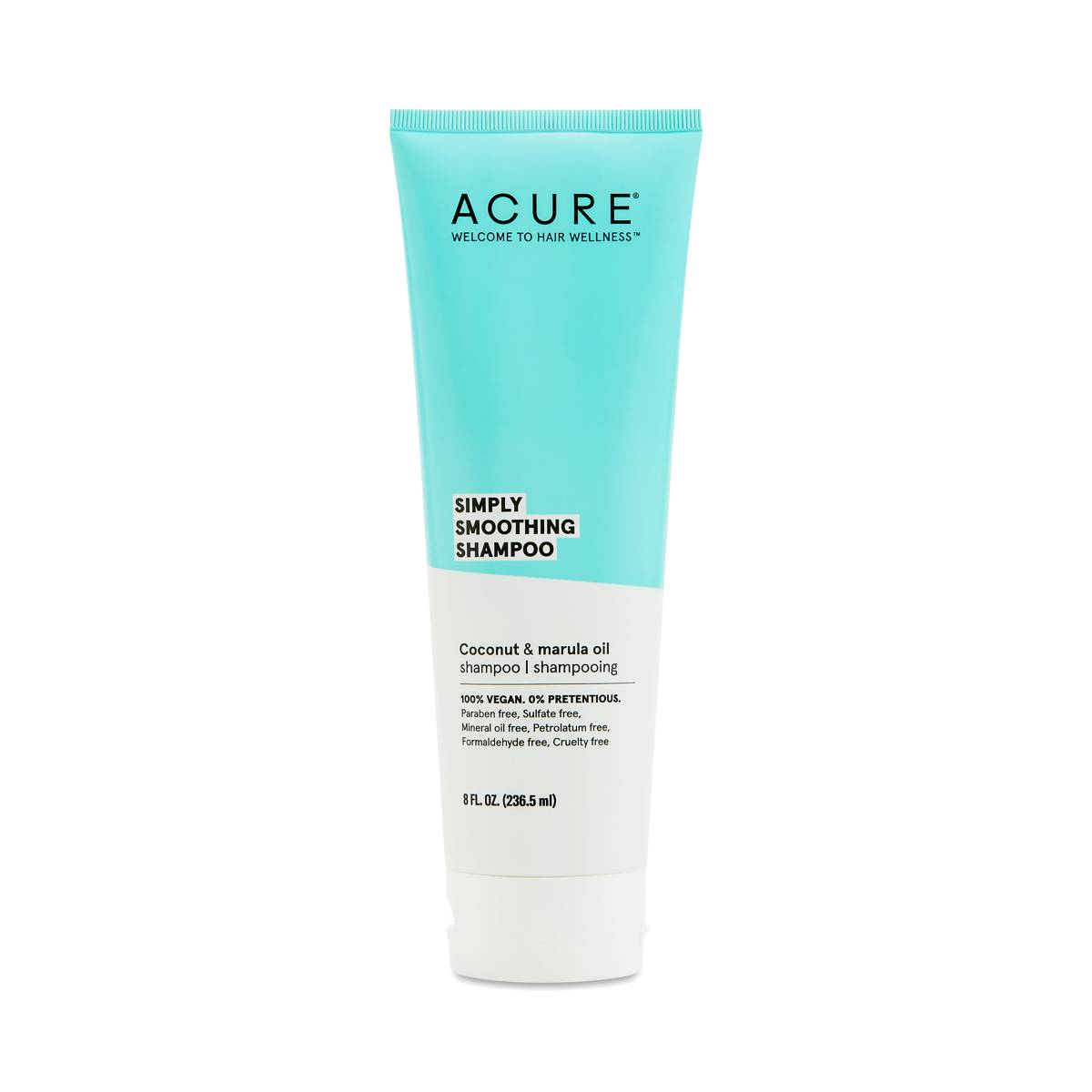 ACURE Simply Smoothing Shampoo, Coconut & Marula Oil