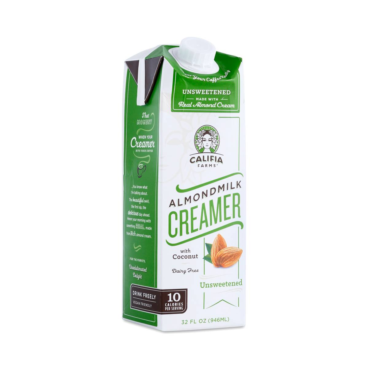 Califia Farms Almond Milk Creamer, Unsweetened