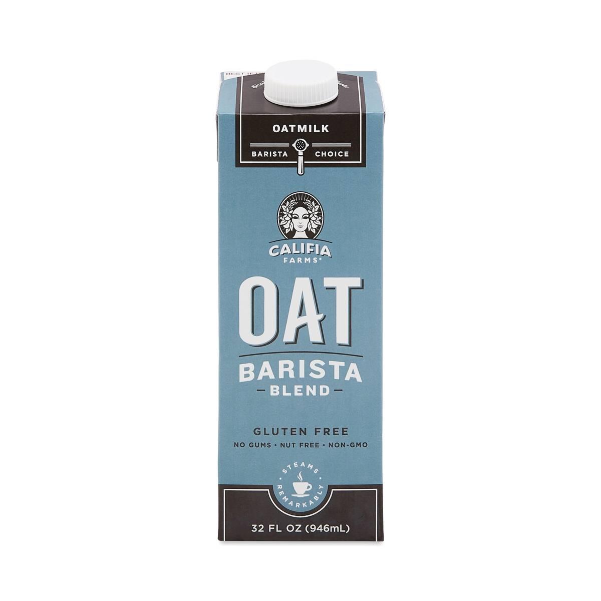 Califia Farms Oat Milk, Unsweetened Barista Blend - Thrive ...