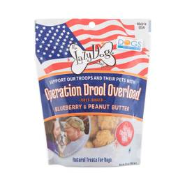 Dog Treats: Operation Drool Overload, Blueberry & Peanut Butter