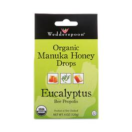 Organic Manuka Honey Drops with Eucalyptus
