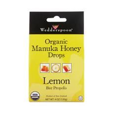 Organic Manuka Honey Drops with Lemon