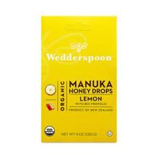 Organic Manuka Honey Drops, Lemon