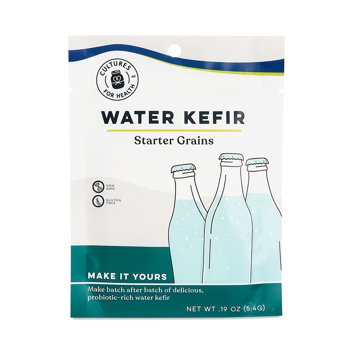Cultures for Health Water Kefir Grains 1 count