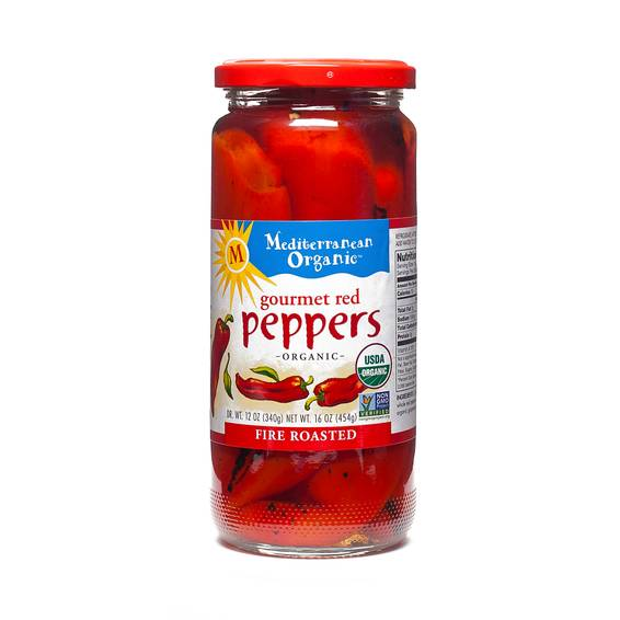 Gourmet Red Peppers - Fire Roasted