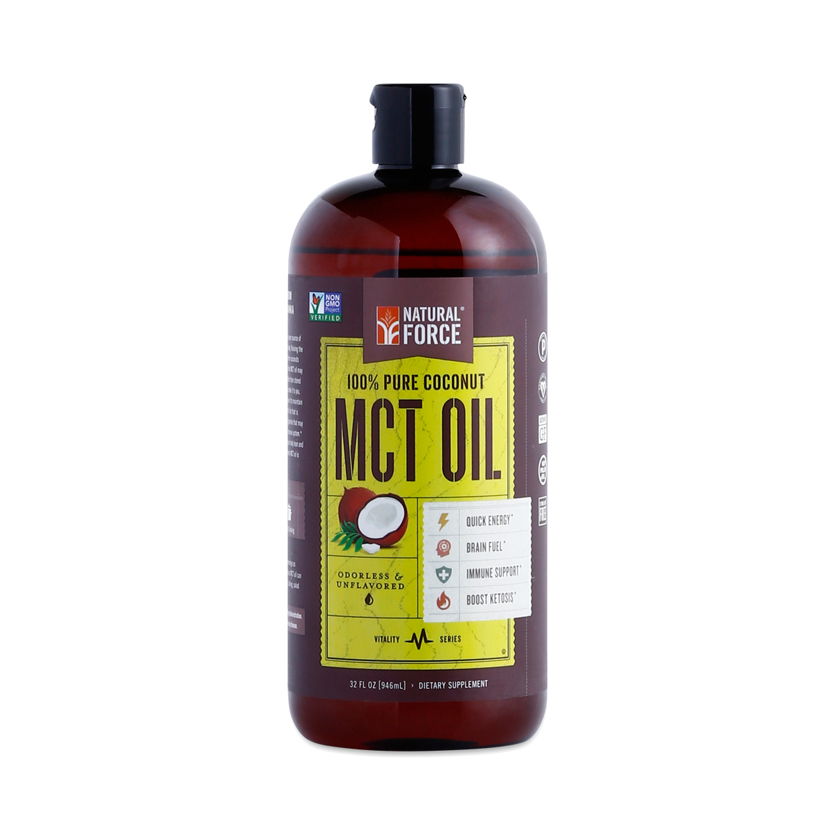 100 Pure Mct Oil From Organic Coconuts Thrive Market