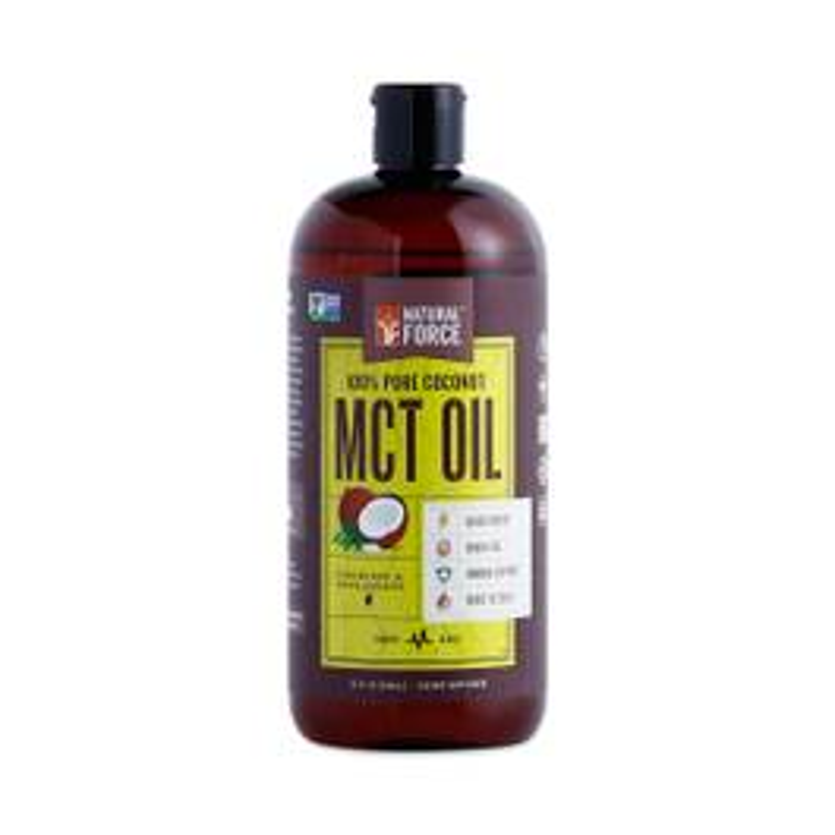 Pure MCT Oil from Non-GMO Coconuts