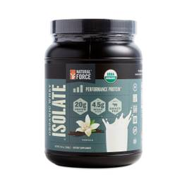 Organic Vanilla Whey Isolate