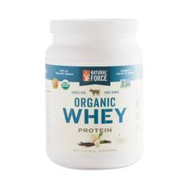 Organic Whey, Vanilla Bean