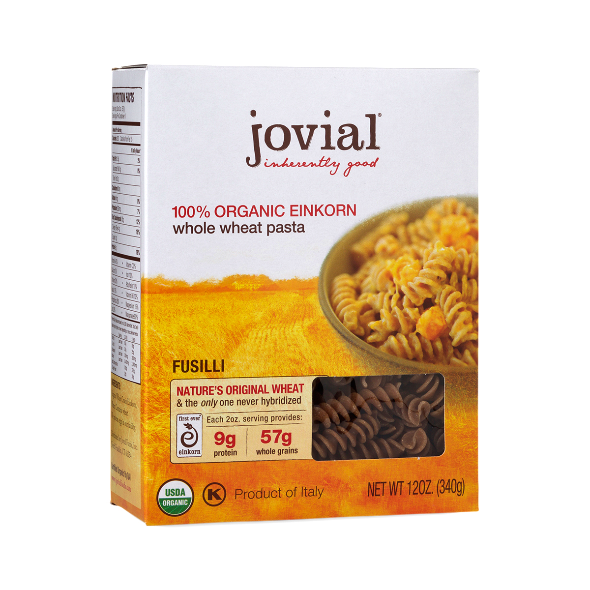 RCA Organic Einkorn Fusilli Pasta