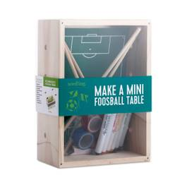 Make A Mini Foosball Table