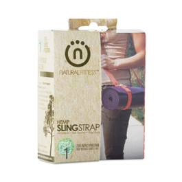Hemp Yoga Sling Strap, Flame