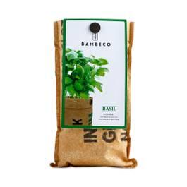 Organic Garden Herb Grow Kit: Basil