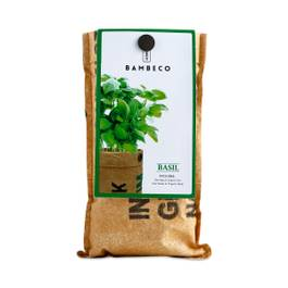 Organic Garden Herb Grow Kit: Basil
