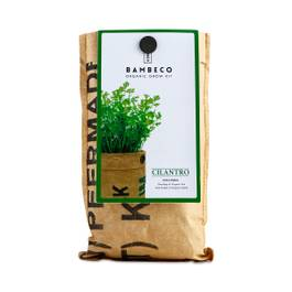Organic Garden Herb Grow Kit: Cilantro